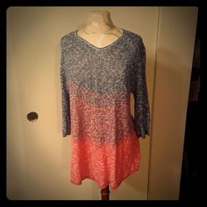 212 New York knit tunic